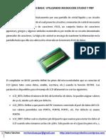 Control de Lcd en Basic Utilizando Microcode Studio y Pbp