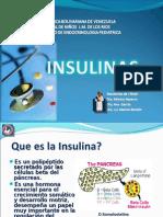 Presentación insulinas ultima