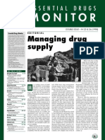 managing drug supply
