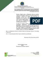 Regimento Geral IFC