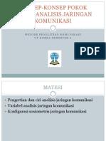 MPK 2-KONSEP-KONSEP POKOK DALAM ANALISIS JARINGAN KOMUNIKASI.pptx