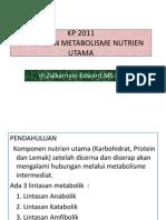 Kp 2011 5 Hub Metab Nutrien Utama