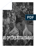 As Opcoes Totalitarias