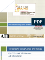 Troubleshooting Cakes and Icings
