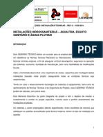 Anexo v Descricao Da Arena Independencia Apendice II Memorial Descritivo de Instalacoes Hidraulicas