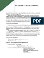 NEF-18 Diálisis periódica y trasplante renal