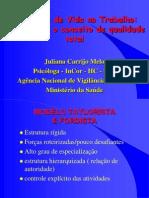 2000 - Qualidade de Vida No Trabalho - Juliana Carrijo