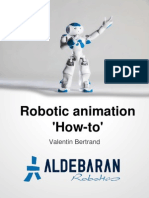 Robotic Animagdgsdgsdtion How To