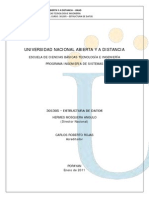 301305 Estructura de Datos