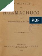 La Batalla de Huamachuco. (1885)