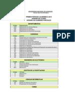 Horario de Clases y Examenes Primer Periodo (1)