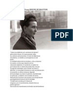 El Anticomunista Por Simone de Beauvoir