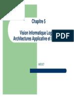 NFE107 - Cours U ARSI 5 - Vision Informatique Logique - Architecture Logicielle - V1.0