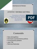 Juventud y Reforma Electoral (1)