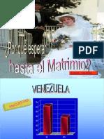 POR QUÉ ESPERAR HASTA EL MATRIMONIO