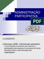 ADMINISTRAO PARTICIPATIVA