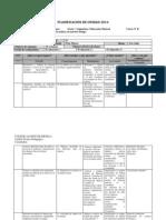 PLANIFICACION DE UNIDAD 8° B - 2014.docx