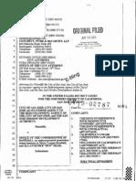 City of San Jose v. Office of Commissioner of Baseball