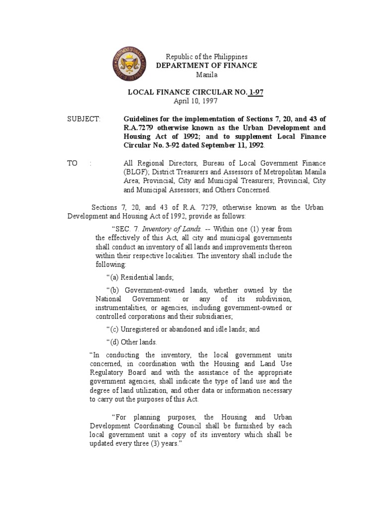 Legislative History of the Housing and Community Development Act ...