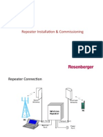 Repeater Installation and Commissioning