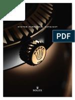 2009 Rolex collection-press-release-español