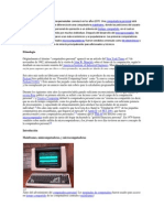 La historia de las computadoras personales comenzó en los años 1970