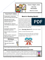 Gsrp Newsletter March 10