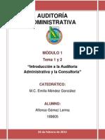 AUDITORÍA modulo 1