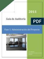Administración de un proyecto de auditoria