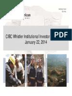 002 - CIBC Whistler Conference Jan 22 - Group Presentation