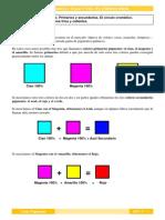 Color Pigmento Prim, Secund