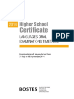 hsc-2014-language-oral-exam-timetable