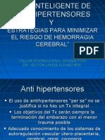 Uso Inteligente de Anti HiPerTenSores