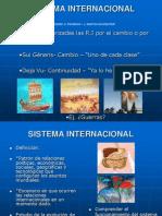 Sistema Internacional Clasico 1