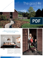 Sanctuary magazine issue 9 - The good life - Woodbridge, Tasmania green home profile