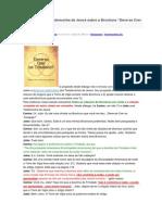 """Diálogo com uma Testemunha de Jeová sobre a Brochura """"Deve-se Crer na Trindade"""