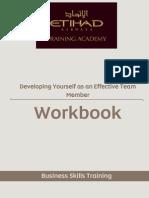 13 12 11 Dev Yourself as Effective Team Member Workbook v1