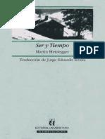 Heidegger, Martin - Ser y Tiempo (Trad. Rivera)