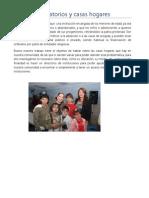 Orfanatorios y Casas Hogares