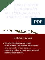 95363564-Evaluasi-Proyek