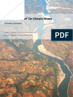 The Last Report on China's Rivers