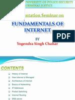 Fundamentals of Internet