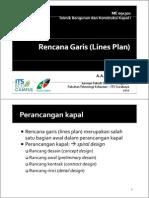 Tugas Rencana Garis (Lines Plan)