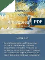 antidepresivos - Psicofarmacología básica