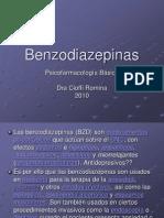 Benzodiazepinas psicofarmacologia básica 2009