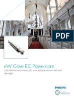 Www.colorkinetics.com Support Datasheets eW Cove EC Powercore ProductGuide