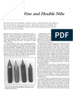 Fine and Flexible Nibs