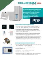 Cellenium 3400 Brochure