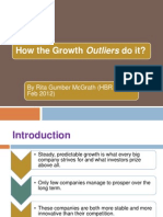 How the Growth Outliers Do It