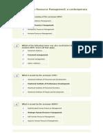 Chapter Human Resource Management